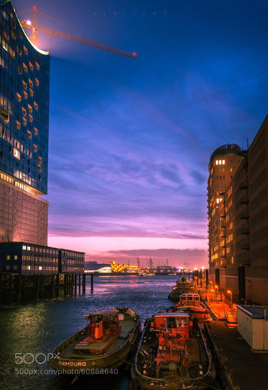 Photograph Hamburg Night by Elblicht  on 500px