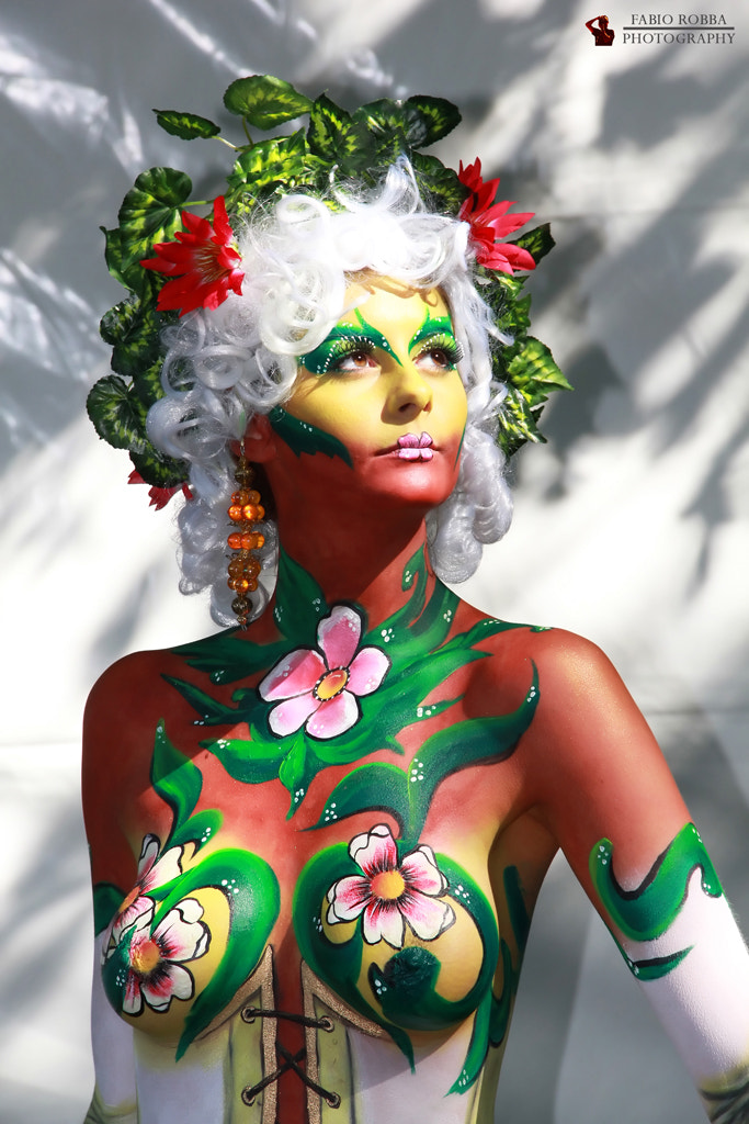 Photograph Body Painting by Fabio Robba on 500px