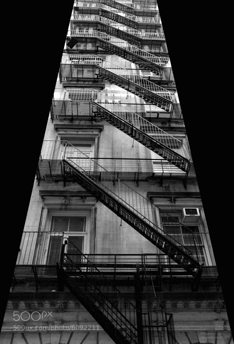 Photograph Fire Escapes by MICHAEL GOFFIN on 500px