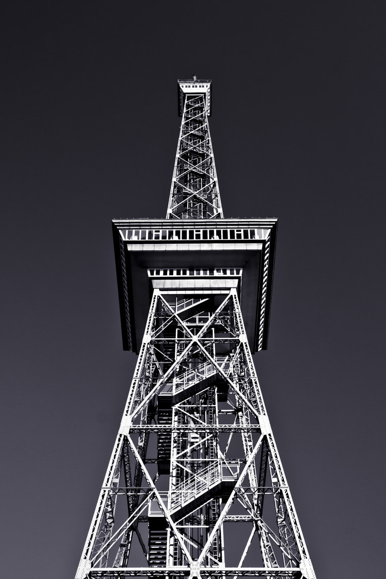 Photograph Funkturm, Berlin by Isabel Feist on 500px