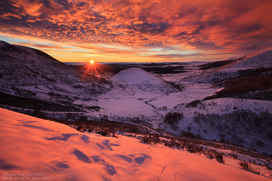 Photograph Breathtaking Sunrise by Maxime Courty on 500px