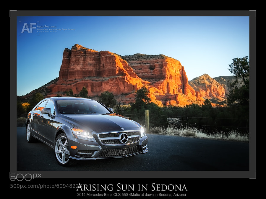 Sedona Sunrise (with a CLS)