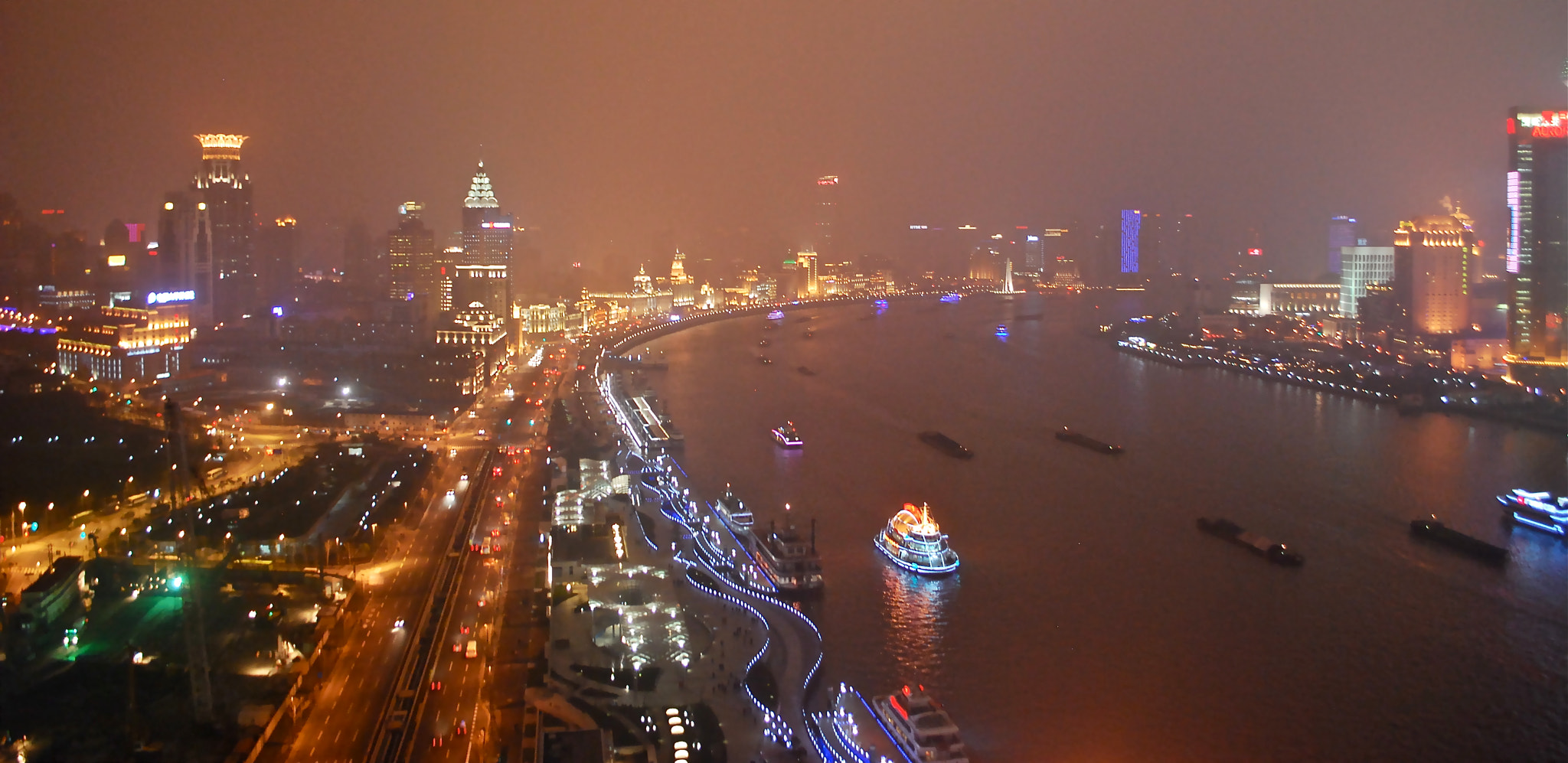 Photograph Night lights in Shanghai by Kirti Satish Manian on 500px