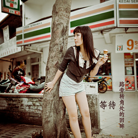 Shermaine Chow . Jln Alor by SJ Yap (sjyap)) on 500px.com