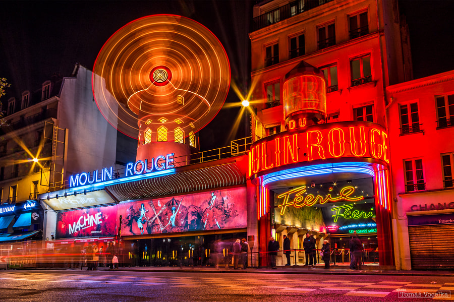 Photograph Moulin Rouge by Tomáš Vocelka on 500px