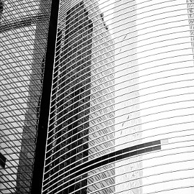 Skyscrapers in Central Hong Kong