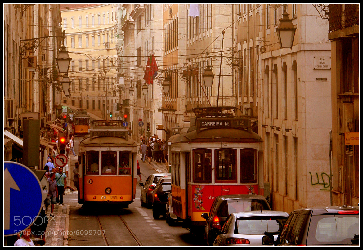 Photograph Trams of Lisbon by Martin Rosen on 500px