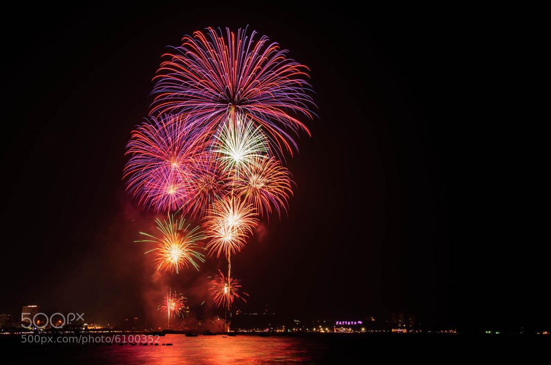 Photograph Firework @ Pattaya by Piyabut Sae-liang on 500px