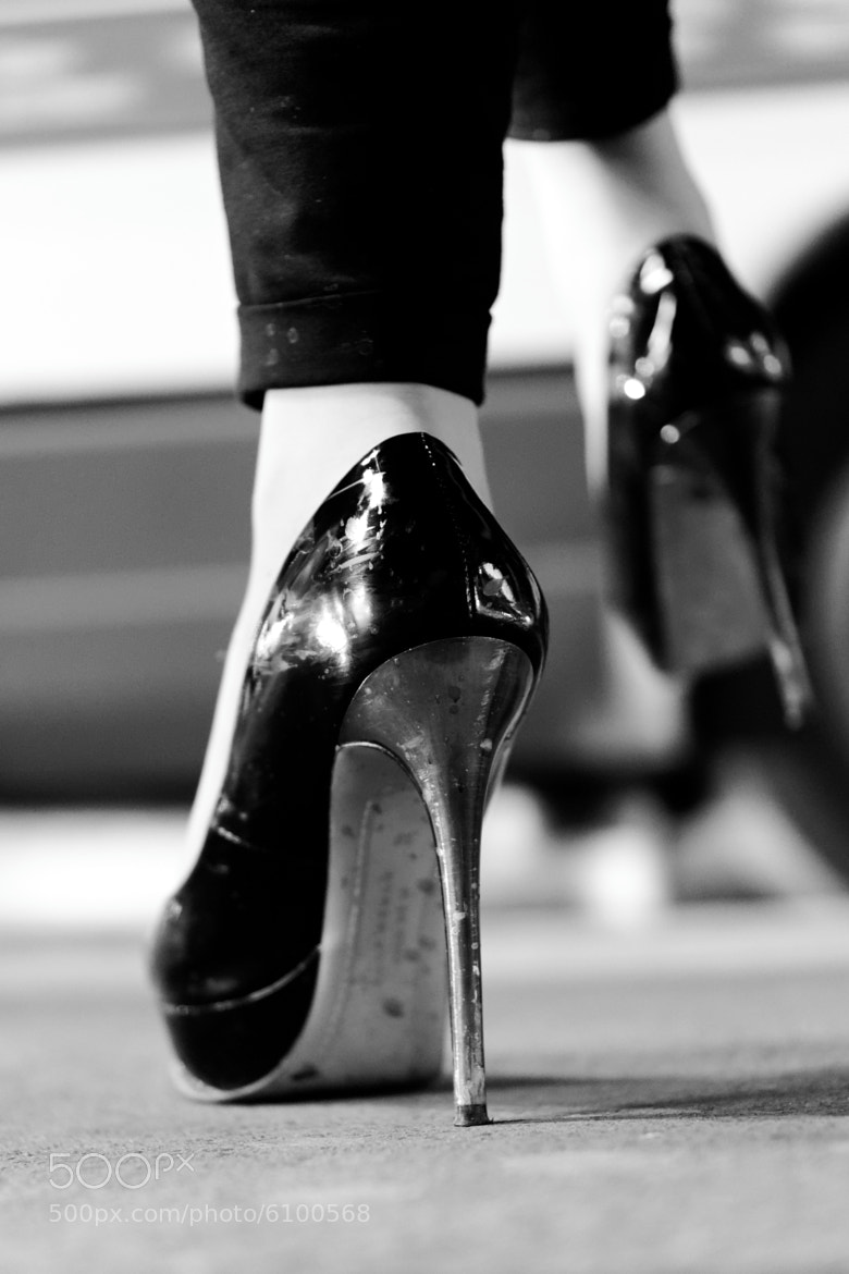 Photograph hot on her heels ! by laurent aublé on 500px