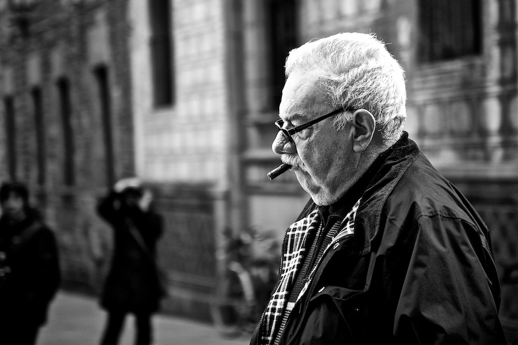 Photograph Cigar Man by Joan Vendrell on 500px