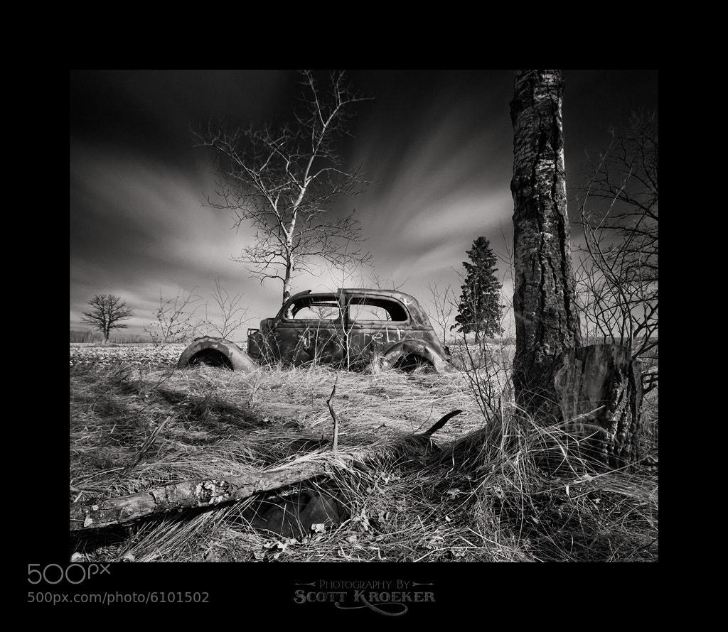 Photograph Tree Car by Scott Kroeker on 500px
