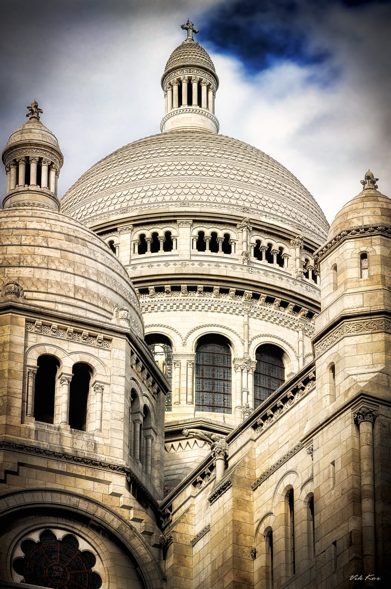 Photograph The Basilica of the Sacred Heart of Paris by Viktor Korostynski on 500px