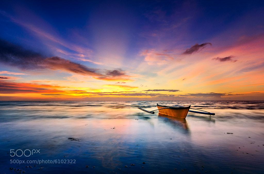 Photograph Sampan.  by Esmar Abdul on 500px