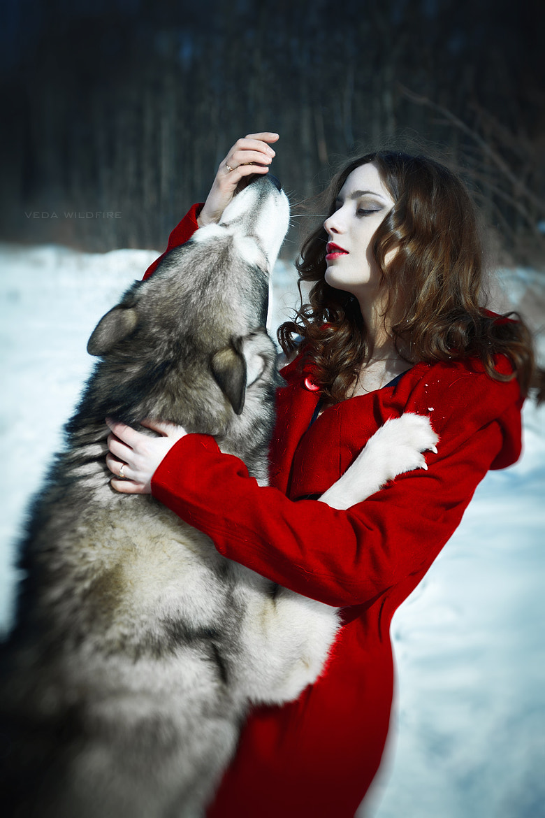 Photograph Red Riding Hood by Veda Wildfire on 500px