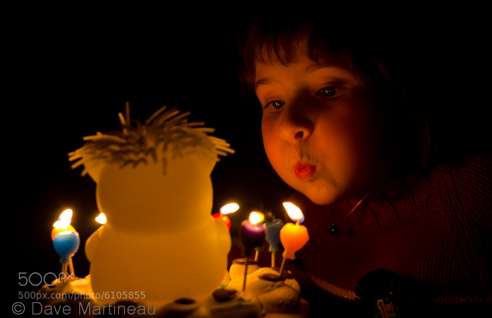 Photograph Happy Birthday by Dave Martineau on 500px