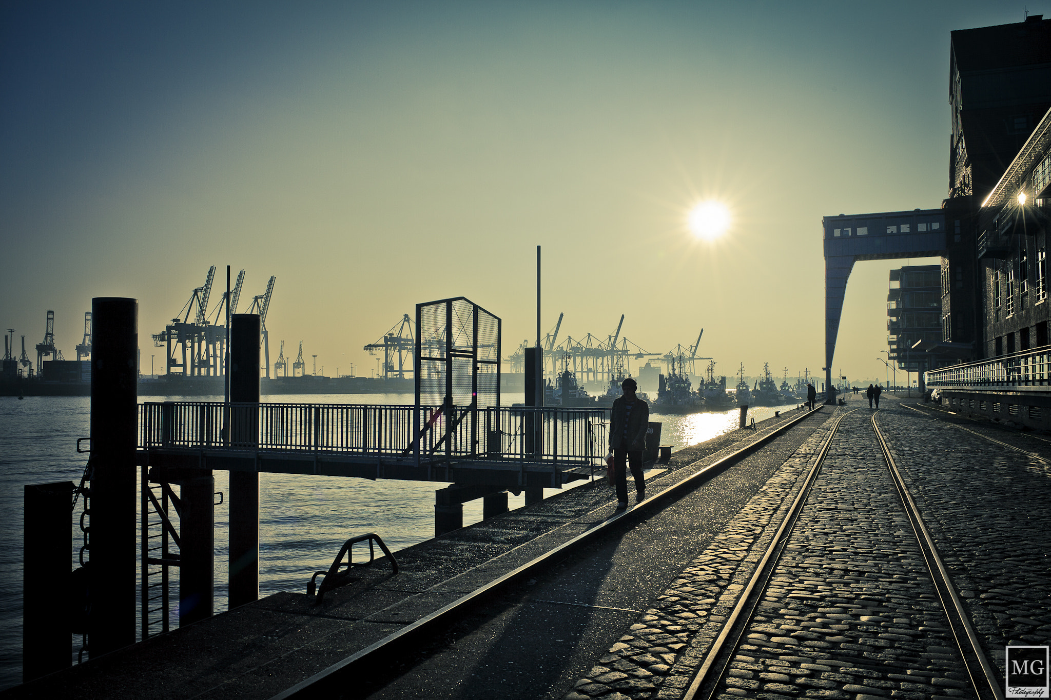 Photograph Pier Silhouettes by Marco Guerreiro on 500px