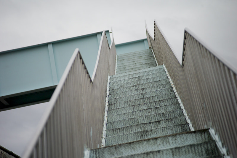 Photograph the blue stairs by alistair noble on 500px