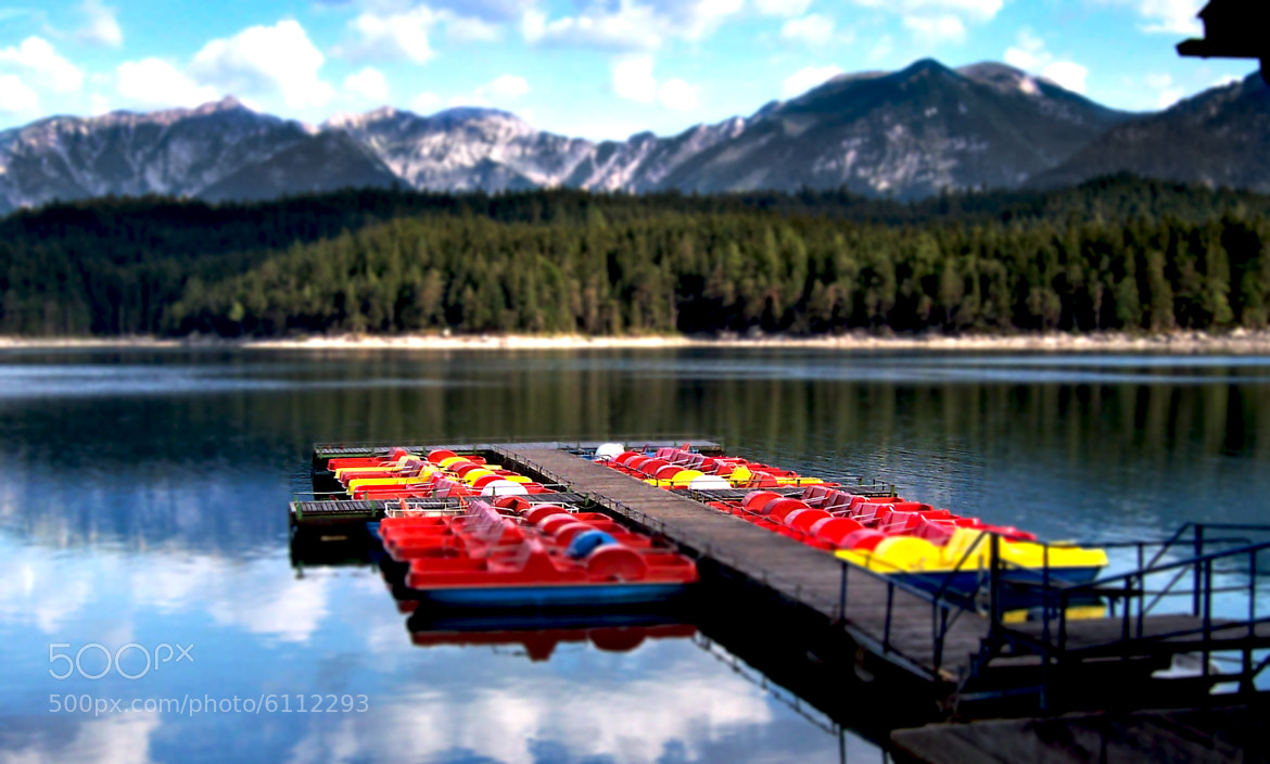 "Photograph "" Little Eibsee"" by We Sch on 500px"
