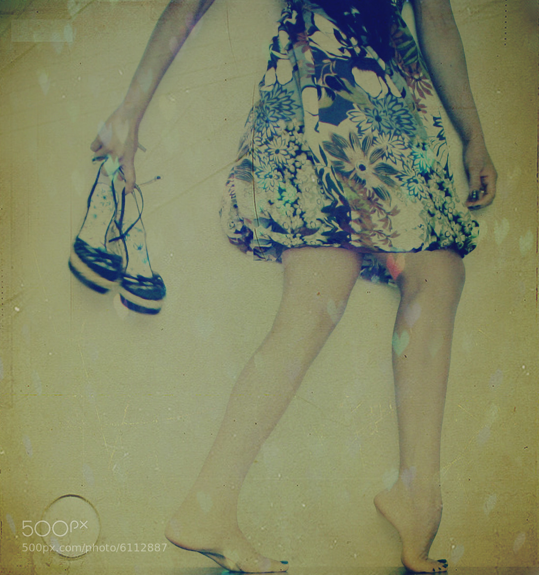 Photograph Walking in my footsteps by Marisa Nourbese on 500px