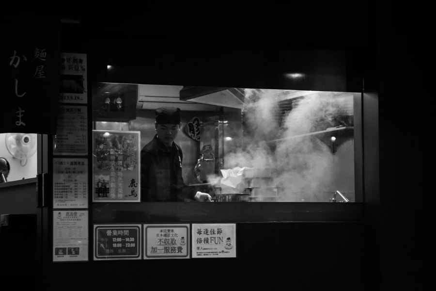 Photograph Ramen Shop by Luis S. on 500px