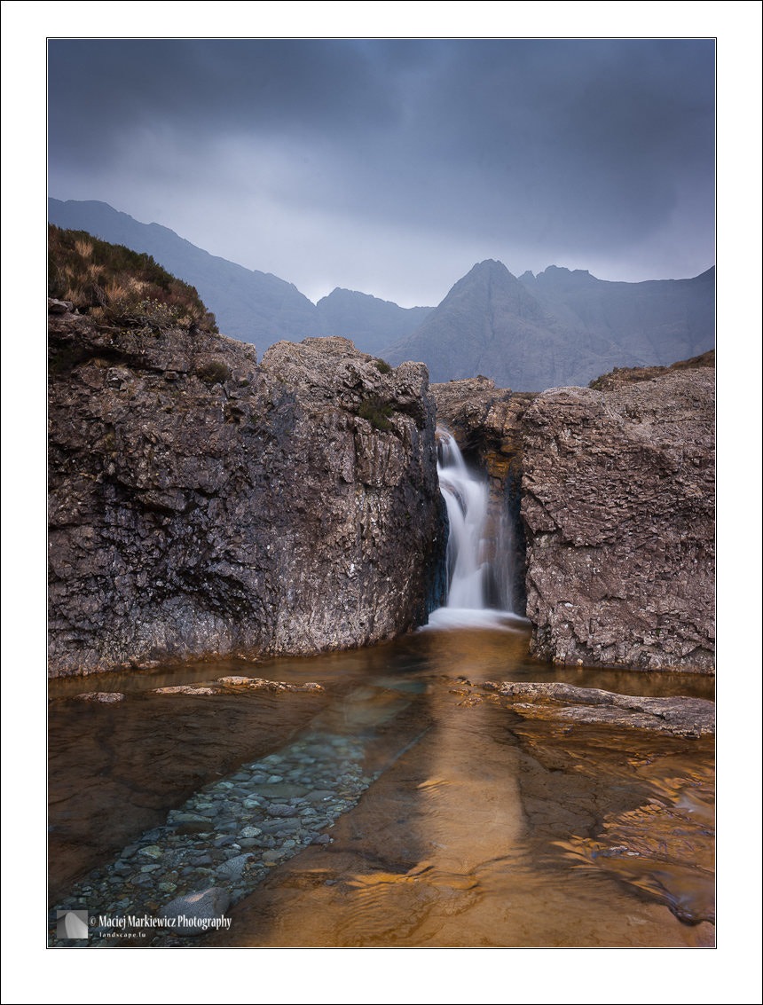 Photograph Fairy Pools (color version) by Maciej Markiewicz on 500px