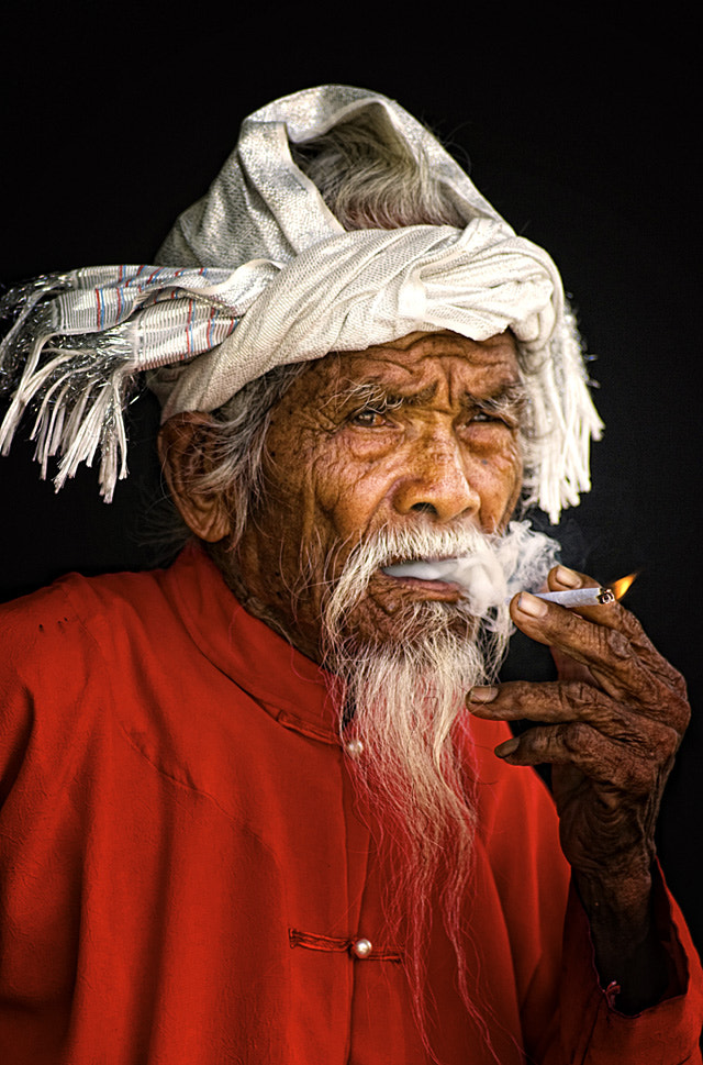 Photograph Cham oldman by Frank Dang on 500px