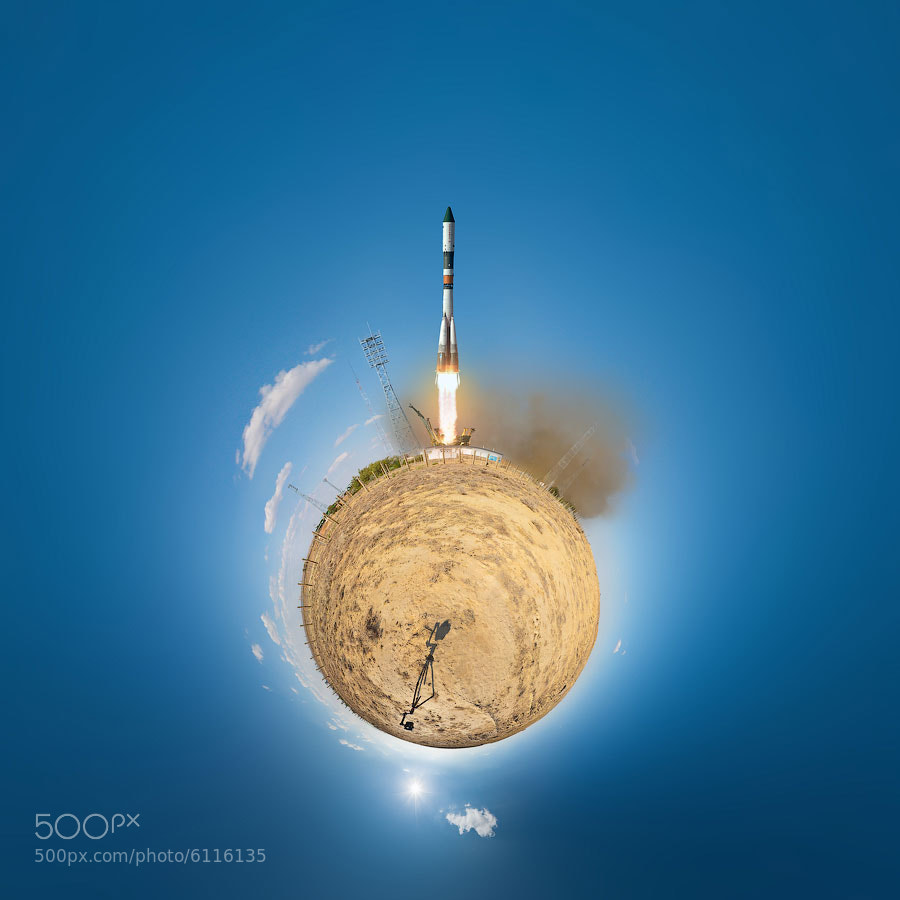 Photograph Planet of Baikonur by Andrew Bodrov on 500px