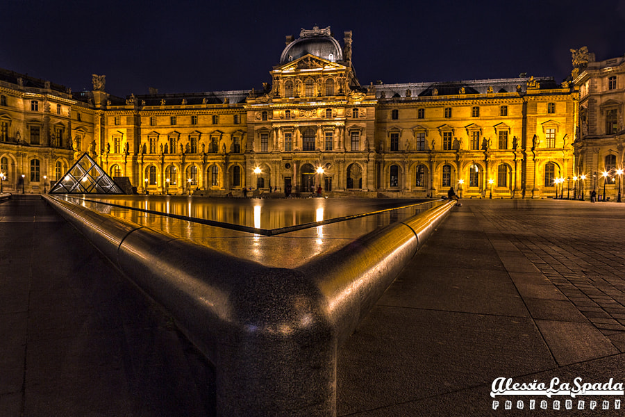 Photograph Louvre at night by Alessio La Spada on 500px