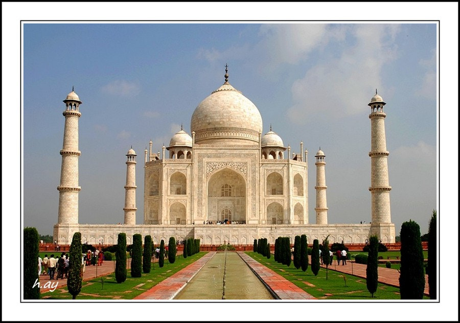 Photograph Taj Mahal - Agra by HUSEYIN AY on 500px
