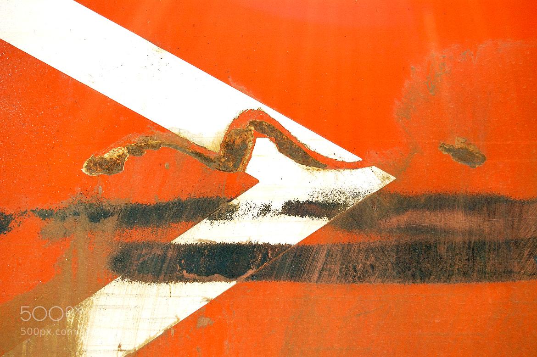 Photograph arrow stencil by Dimitris Kolyris on 500px