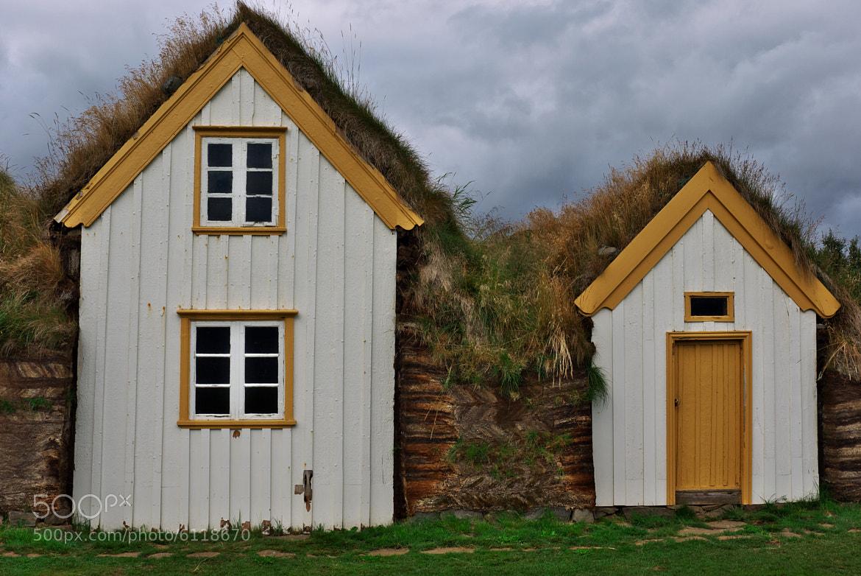 Photograph Icelandic turf houses by Ivan Šlosar on 500px
