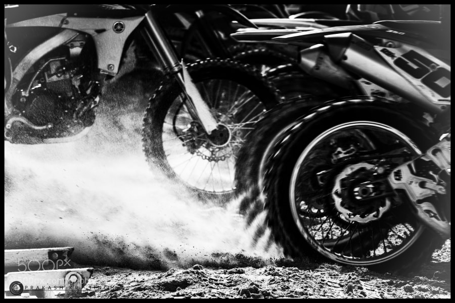 The race...