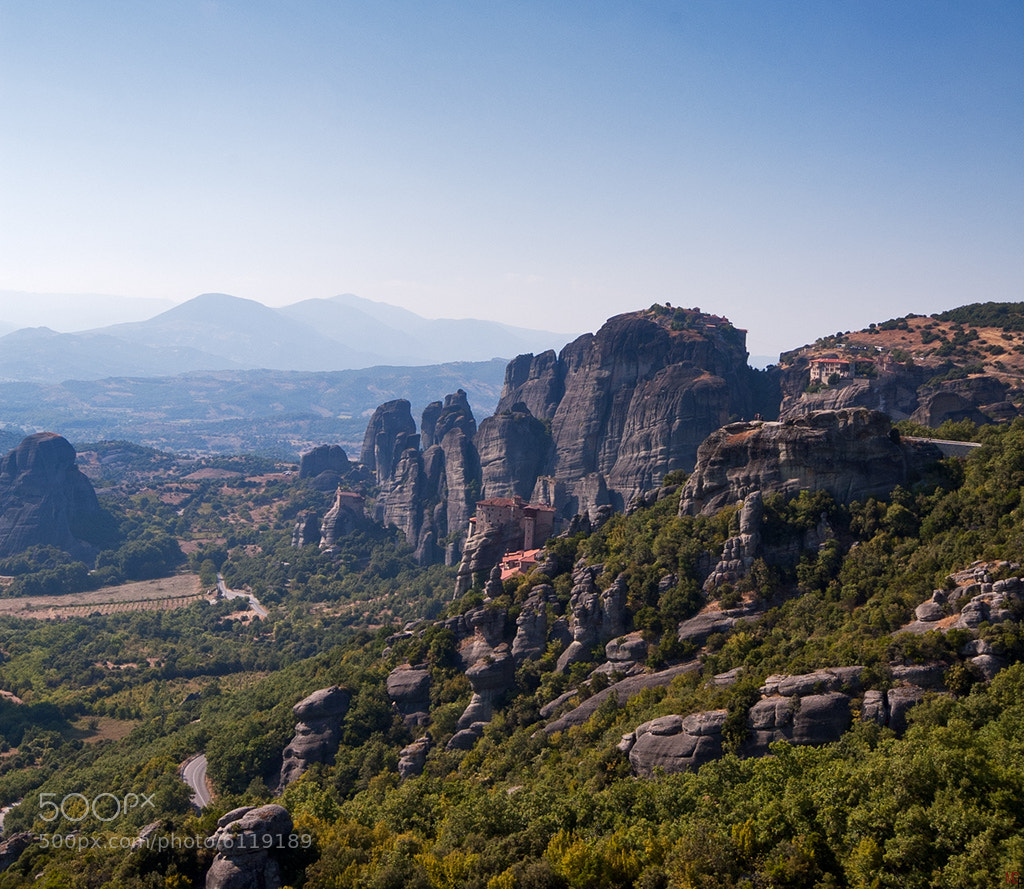 Photograph Holy monasteries of Meteora by Marc G on 500px
