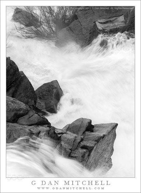 Photograph Spring Torrent, Yosemite by G Dan Mitchell on 500px