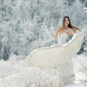 snow queen by Viktoria Haack (islandtime)) on 500px.com