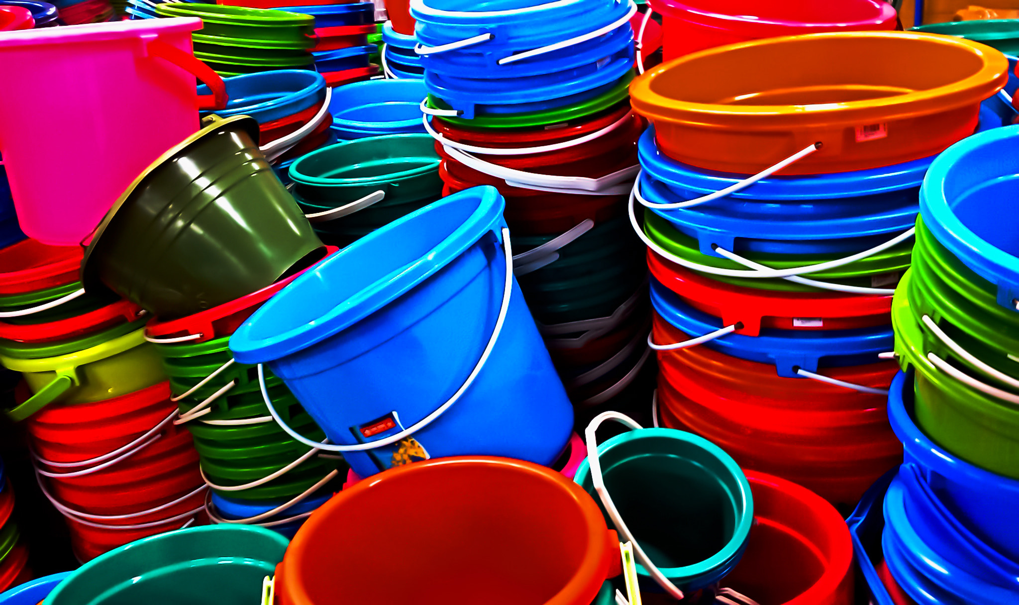 Photograph Pails in 'Progo' by Joe P. Marselo on 500px