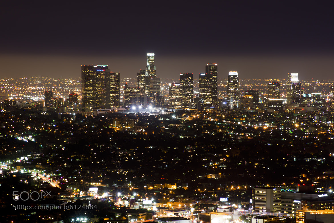 Photograph Twinkle Twinkle L.A. Lights by Orville Griffiths on 500px
