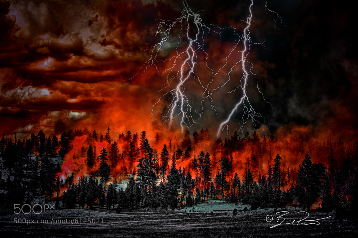 Photograph Fires creator by Brad Peterson on 500px