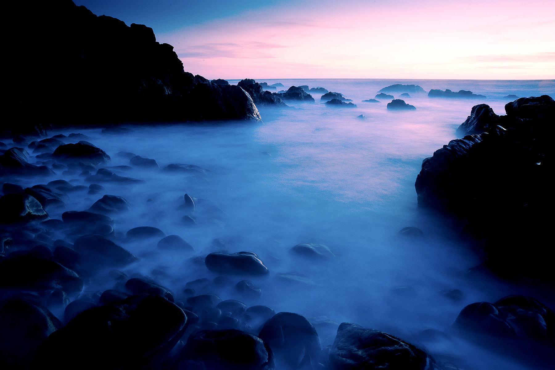 Photograph Pink and purple tide by Brad Peterson on 500px