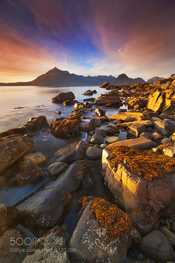 Photograph Elgol Gold by Dylan Toh  & Marianne Lim on 500px