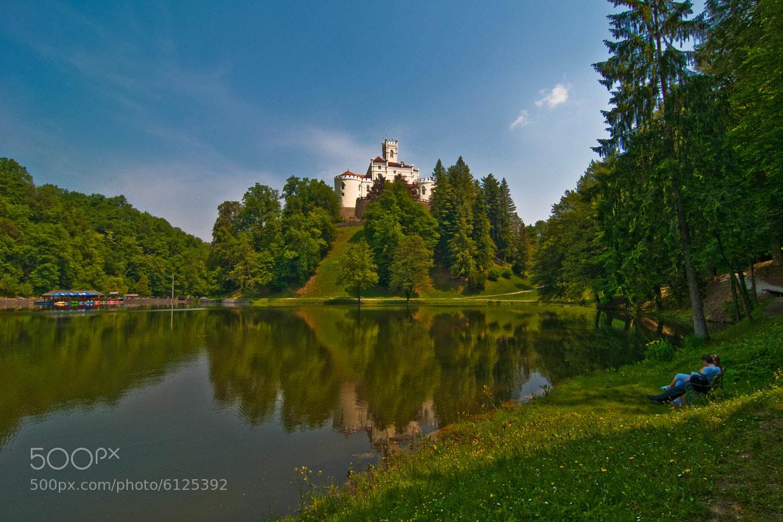 Photograph castle - Trakošćan (02) by Vlado Ferencic on 500px