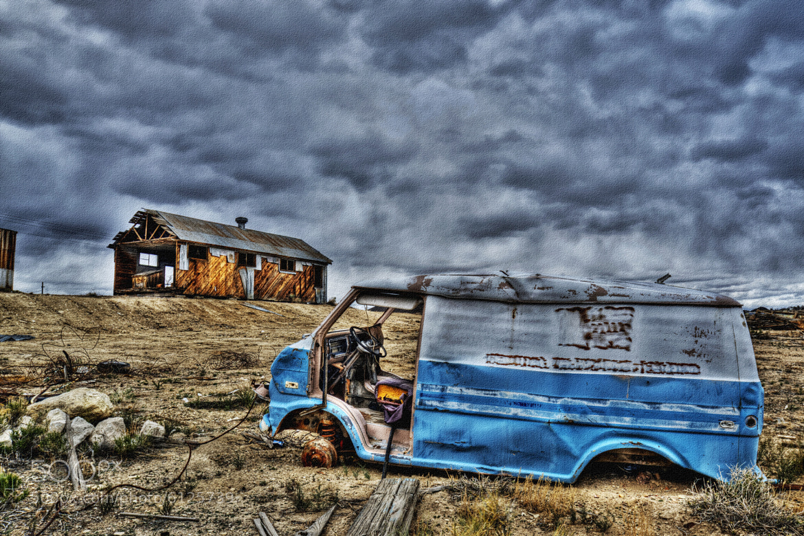 Photograph I found the Mystery Machine from Scooby Doo by Brad Peterson on 500px
