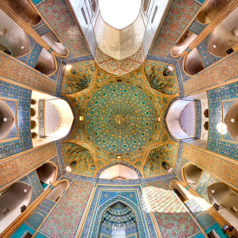 Photograph Jame Mosque of Yazd by Mohammad Reza Domiri Ganji  on 500px