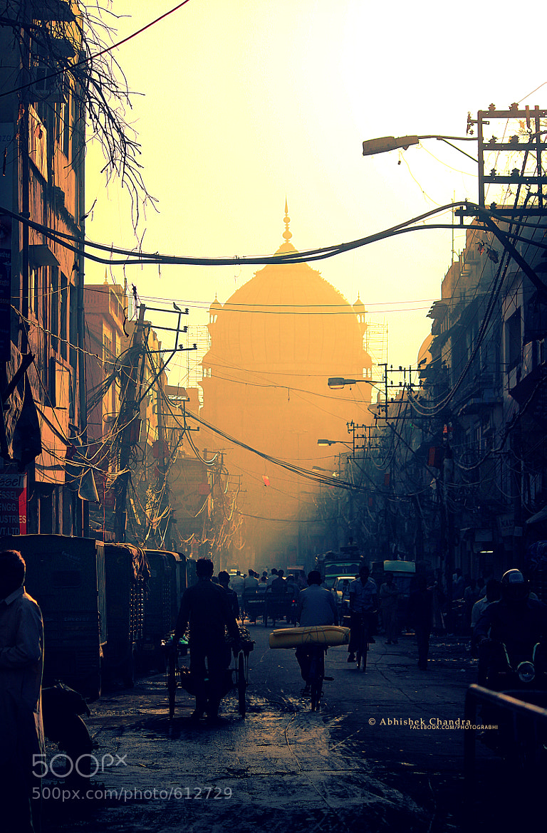 Photograph A morning in Delhi Street by Abhishek Chandra on 500px
