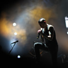 Постер, плакат: Chester Bennington of Linkin Park