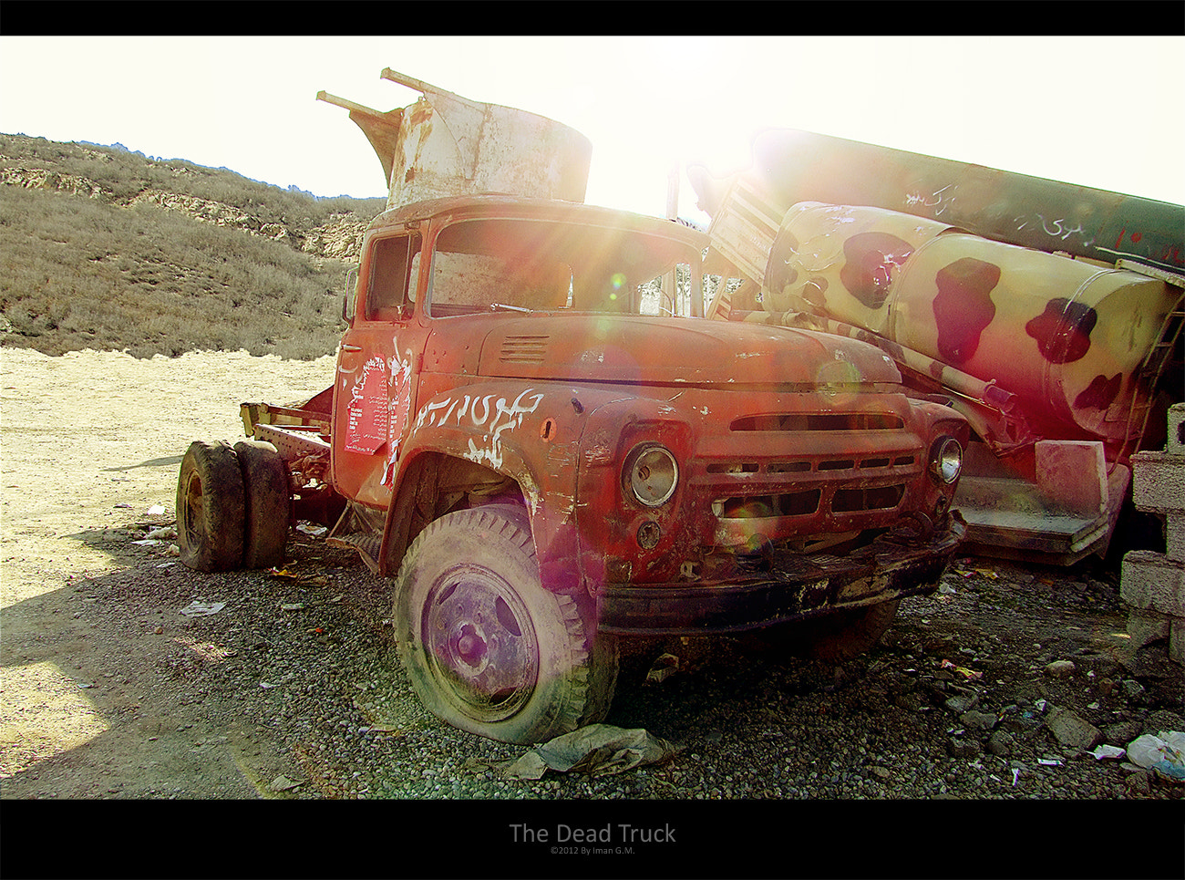 Photograph The Dead Truck by Iman GM on 500px
