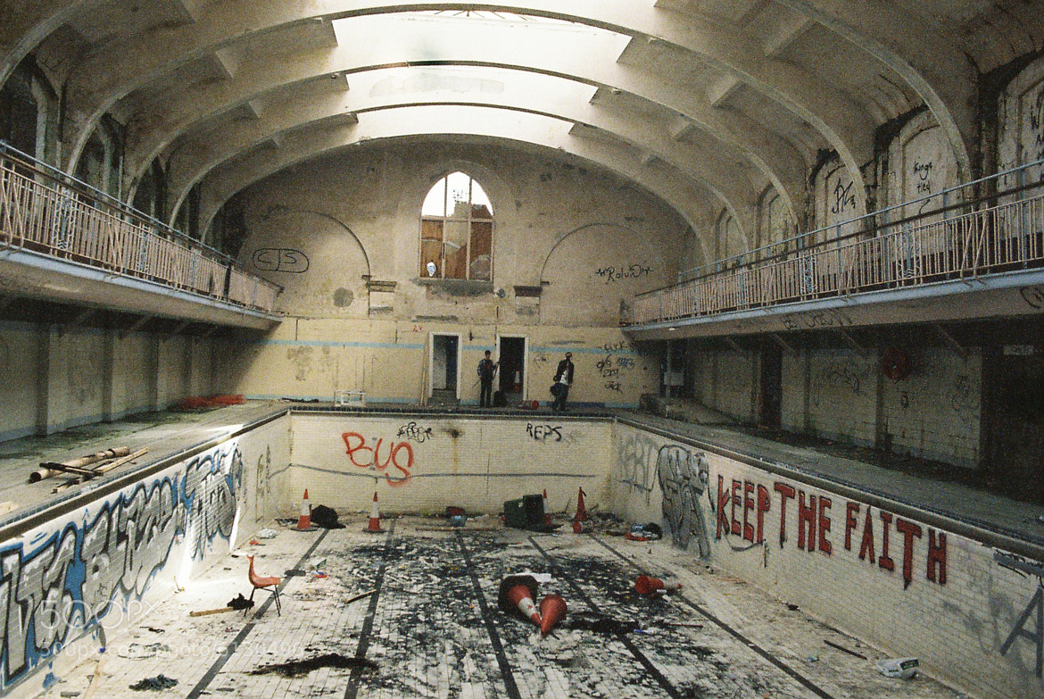 Photograph Urbex - Durham Baths by Kyle Ablett on 500px