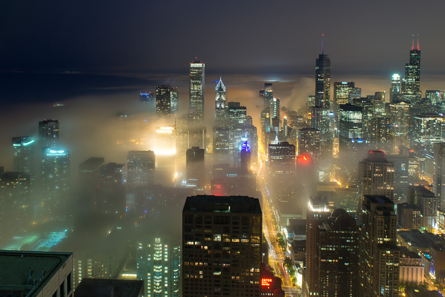 Photograph Foggy Chicago by Peter Tsai on 500px