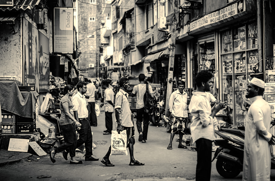 Street Corner, Pettah, Colombo by Son of the Morning Light  on 500px.com