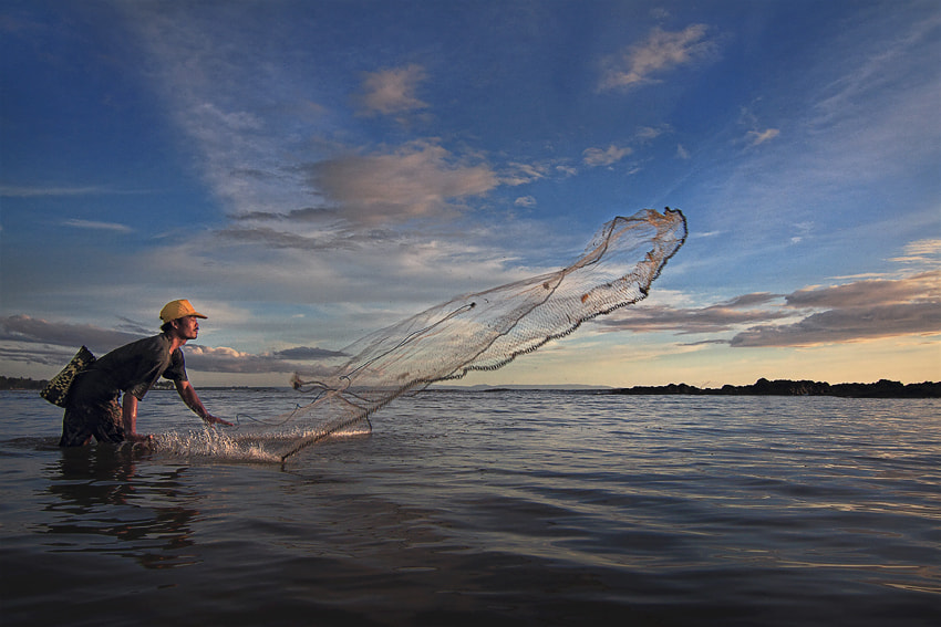 Photograph Traditional fishermen by tommi zaqin on 500px